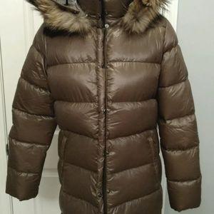 Duvetica down puffer jacket 44 8 10 brand new
